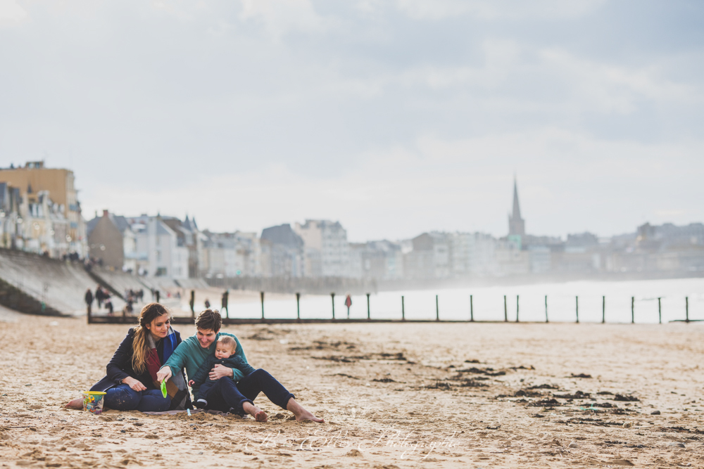 Séance photo en famille à Saint Malo